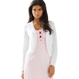 Lilly Pulitzer Moore Cardigan in White